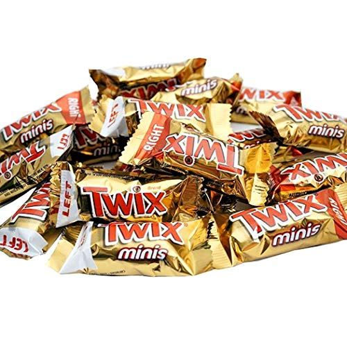 Twix Bulk Mini caramelos, 420 g.