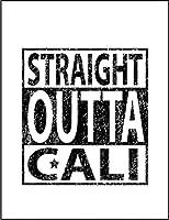 【カリフォルニアから直で行くから】 ポストカード・はがき(白背景)