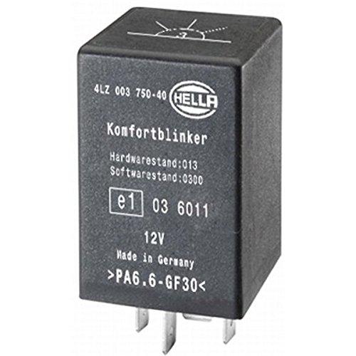 HELLA 4LZ 003 750-401 Relais - 12V - 5-polig - Anschlussanzahl: 5 - gesteckt - elektrisch