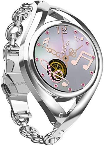 hwbq Smart Watch Damen DIY Uhr Gesicht Lady Smartwatch Armbanduhr für Android Smartwatch Armband Fitness Tracker Uhr Smart Sportuhr