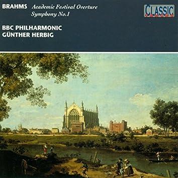 Brahms: Academic Festival Overture - Symphony No.1