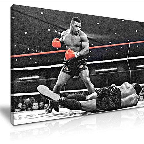 CAPTIVATE HEART Lienzos de Fotos 60x90cm sin Marco Mike Tyson Greatest Hit Boxing Lienzo estirado Cuadro de Arte de Pared Impreso