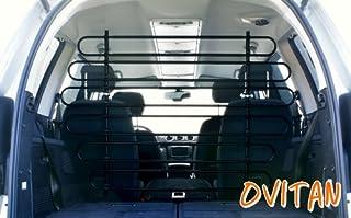 OVITAN® Hundegitter fürs Auto 12 Streben universal zur Befestigung an den Kopfstützen der Vordersitze   für alle Automarken geeignet   Modell: V12