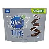 York Thins Dark Chocolate Peppermint Pattie Candy, 7.2 Oz