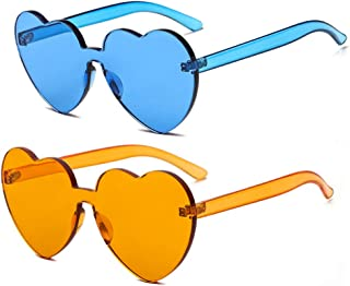 orange and blue sunglasses