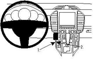 Brodit 854537 ProClip Halterung, schwarz