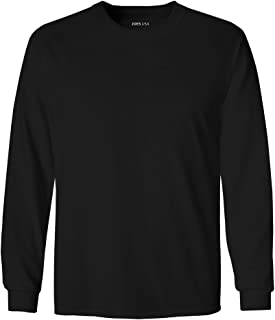 Joe's USA Youth Long Sleeve Cotton T-Shirts in 20 Colors