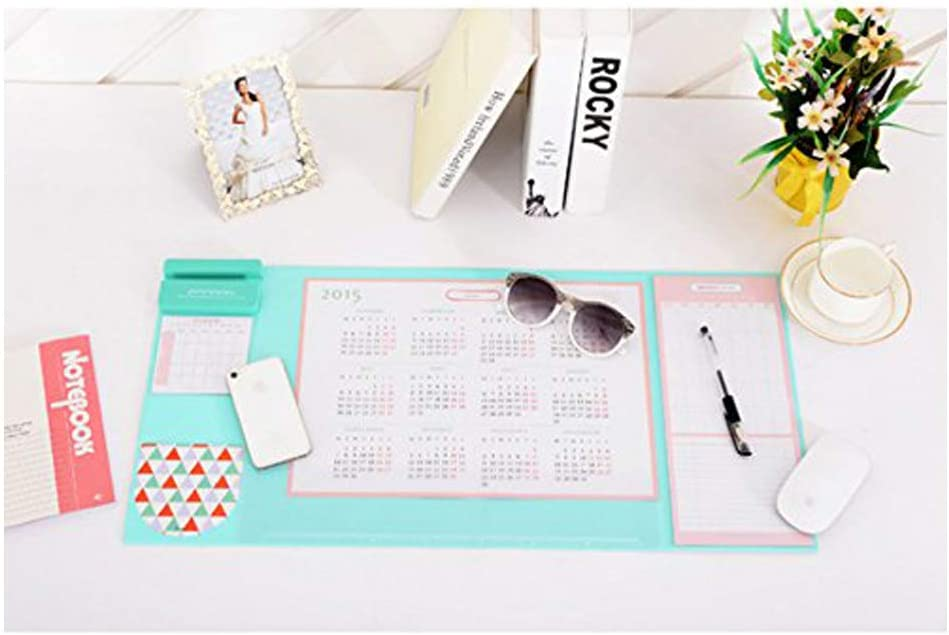 STARROP Desk MAT Large Size Mouse pad,Anti-Slip Desk Mouse Mat Waterproof Desk Protector Mat