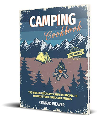 Camping Cookbook: 250 Ridiculously Easy Campfire Recipes to surprise your family and friends