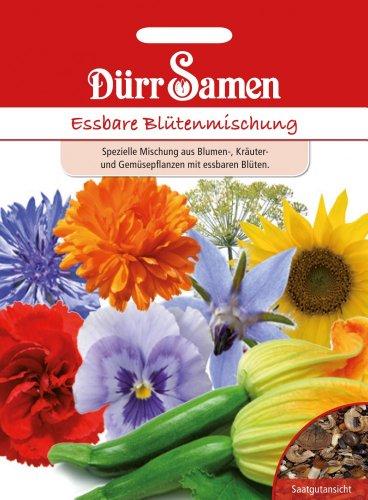 Dürr-Samen Essbare Blütenmischung