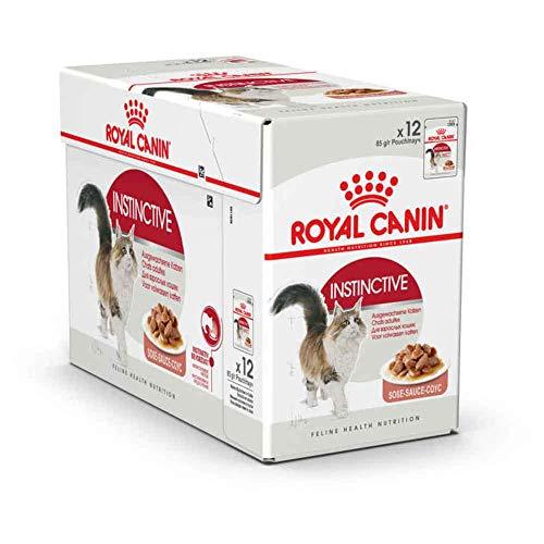Royal Canin Cibo Umido per Gatti Adulti Instinctive Gravy - 12x85gr - 1020 gr