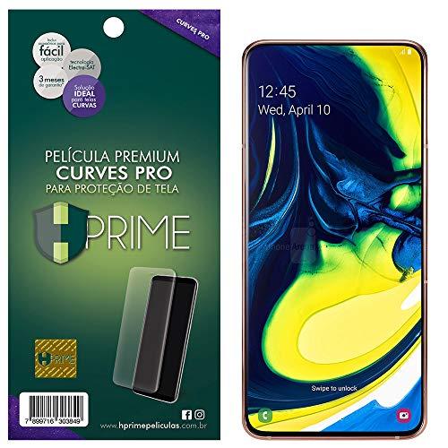 Pelicula Curves Pro para Samsung Galaxy A80, Hprime, Película Protetora de Tela para Celular, Transparente
