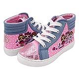 L.O.L. Surprise! Girls Hi-Top Canvas Sneaker, Pink, 12 Little Kid