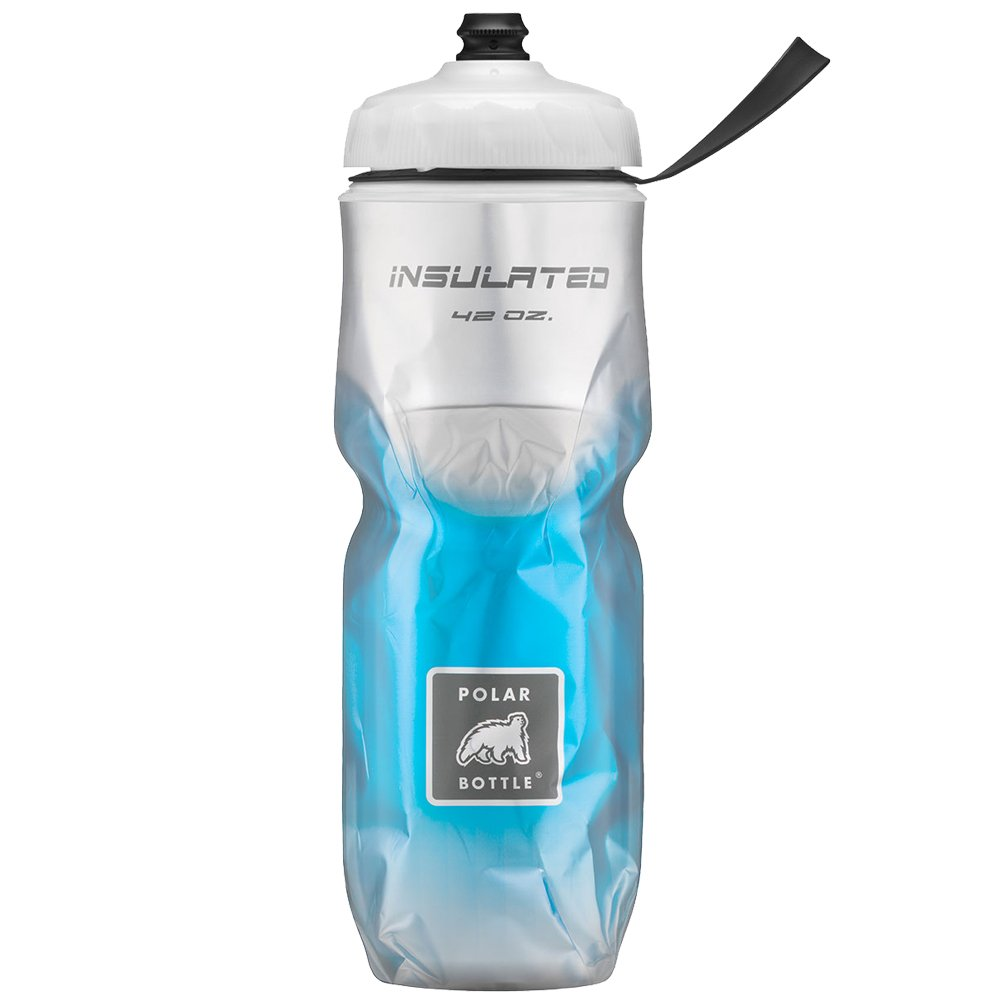 Polar Bottle Insulated Water Bottle Bike Lines 24oz