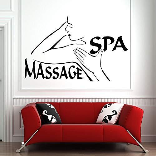 Tianpengyuanshuai muurstickers, spa, woonkamer, dames, vinyl, muurstickers, motief: wanddecoratie, cosmetica, massage, afneembaar