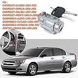 DishyKooker 12458191 Cylindre de serrure de rechange et clé pour clé de voiture Chev-rolet Olds Pontiac Key OEM :