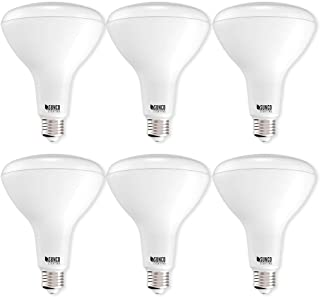 Sunco Lighting 6 Pack BR40 LED Bulb, 17W=100W, Dimmable, 5000K Daylight, E26 Base, Indoor Flood Light for Cans - UL & Energy Star