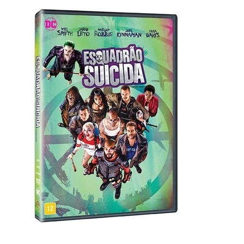 Dvd - Esquadrao Suicida