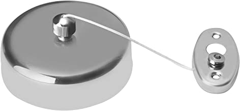 QUICK SILVER Stainless Steel Retractable and Lockable Cloths line Chrome Finish
