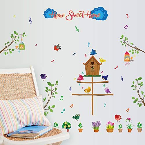 Tongqu Homeland Kinderzimmer Klassenzimmer Hintergrund Wanddekoration Wandaufkleber 83 * 77Cm
