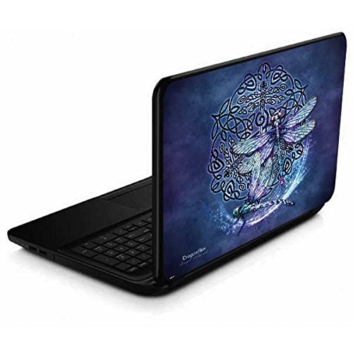 Skinit Decal Laptop Skin Compatible with 15.6 in 15-d038dx - Originally Designed Dragonfly Celtic Knot Design