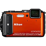 Nikon Coolpix AW130 16MP Waterproof Shockproof Digital Camera (Orange)(Certified...