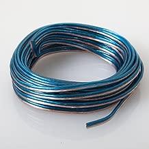 Audiotek - AT-SPW18GA/25B - Car Vehicle 18 Gauge Speaker Wire - 25 Feet Blue