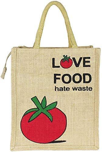 Fiambrera decorativa india de diseño bolsa de yute, ecológica, cierre de yute, bolsa de compras reutilizable hecha a mano, bolsa de la compra Killim
