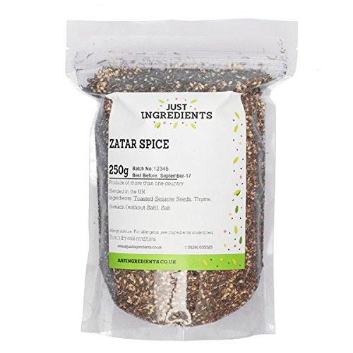 JustIngredients Essential Especias Zatar  - 250 gr