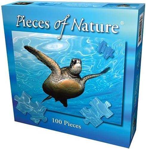 hasta 60% de descuento verde Sea Turtle Jigsaw Puzzle Puzzle Puzzle 100pc by Planet Zoo  Vuelta de 10 dias