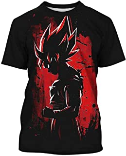 Dragon Ball Z T-Shirt Boys Girls 3D Print Cartoon Casual Pullover Tops