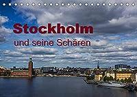 Stockholm und seine Schaeren (Tischkalender 2022 DIN A5 quer): Reise in die wunderbare Welt des Stockholmer Schaerengarten (Monatskalender, 14 Seiten )