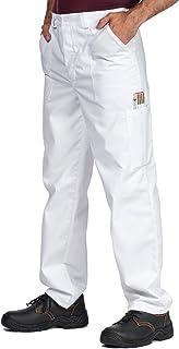 Pantalones de trabajo para hombre, S - XXXL, Pantalones de seguridad, Made in EU, Azul, Rojo, Verde, Bianco