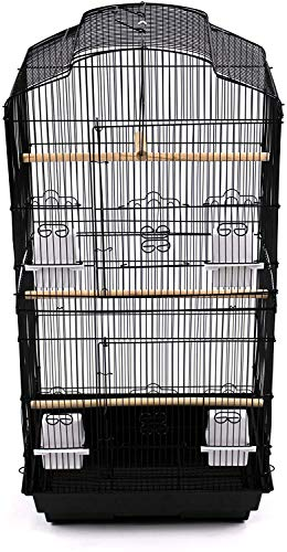 37' Rooftop Metal Large Bird Parrot Cage Carrier For Canary Budgie...