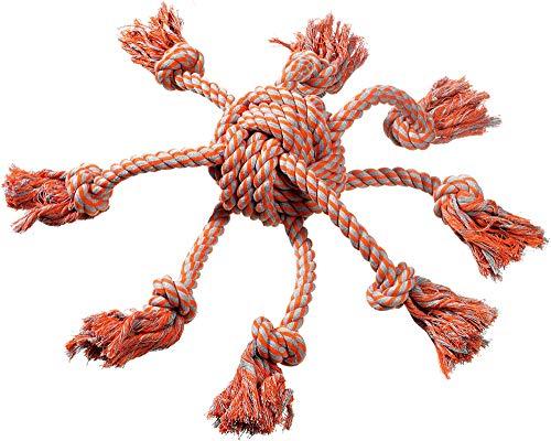 FLAMINGO Pieuvre Corde Tug Jouet pour Chien 15 x 15 cm