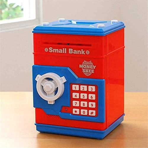 Lianlili Guohailang Dinero Bancos de Dibujos Animados Inteligente Simulación ATM Ahorro del Banco guarro Pot contraseña Fuerte Máquina de cumpleaños Regalo Creativo Que Hace un Perfecto Color, A,