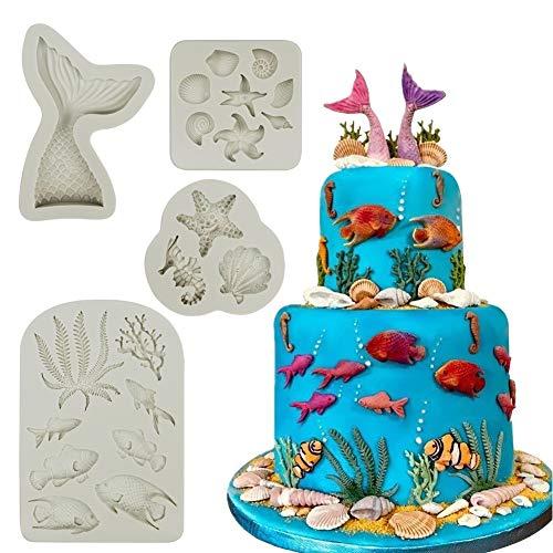 Mity rain Marine Theme Cake Fondant Mold