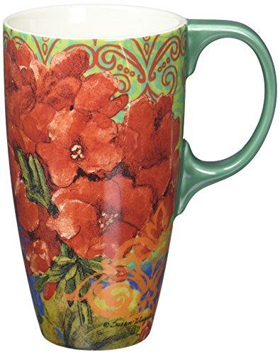 Taza Lang Boho Garden Latte de Susan Winget, multicolor