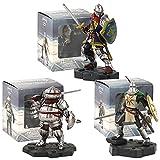 3 Unids / Set Dark Souls Heroes of Lordran Solaire Oscar Siegmeyer con Espada PVC Colección Modelo Figura De Acción Juguetes Muñeca Regalos 10Cm