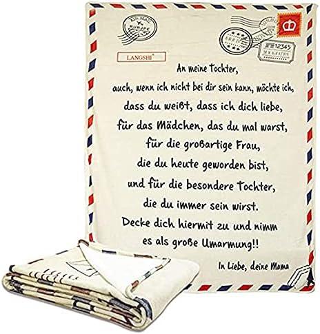 Latest item Kiminors Letter Save money Flannel Blanket Postcard German Positive
