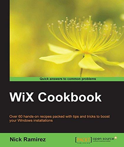 WiX Cookbook (English Edition)