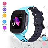 HuaWise Kids smartwatch, Anti-Lost Waterproof Smart Watch with Real-time Position Tracker,Touch Screen SOS