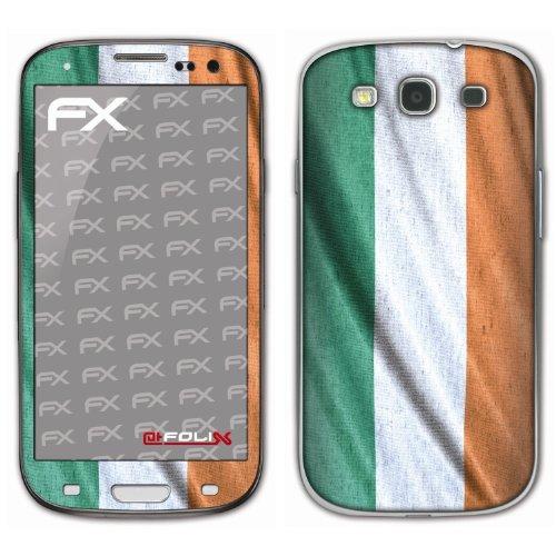 atFoliX voetbal 2012 designfolie voor Samsung Galaxy S3 GT-I9300, Ierland vlag, Afbeelding
