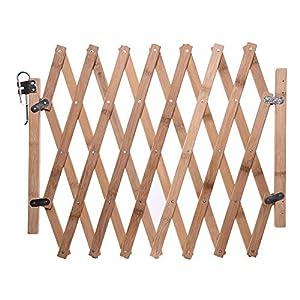 Tidyard Puerta de Madera de Resistencia a la Intemperie y Corrosión de Rustica 100 x 120 cm: Amazon.es: Hogar