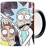 Rick And Morty Portal Heat Reactive Coffee Mug Ceramic Color Changing Magic Cup Kid's Gift (Morty Big Eye)