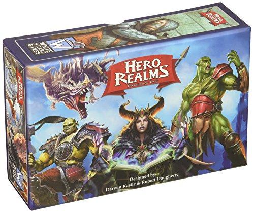 White Wizard Games WWG500 Hero Realms Deckbuilding Kartenspiel (englisch)