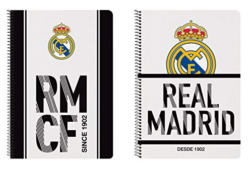 Real Madrid 511854066 2018 Funda de abonos de transporte, 31 cm, Blanco