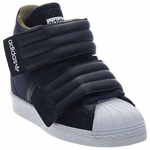 Rita Ora X Adidas Superstar hasta 2strap (Leyenda de la TintaBlanco) Zapatos S82794 (9.5)
