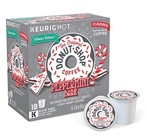 The Original Donut Shop service Peppermint Bark K-c Long-awaited Coffee - 18 Flavored