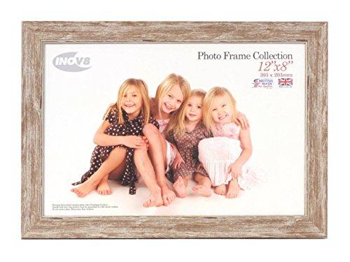 Inov8 PFES-SWWA-128 Traditionell Briten Foto und Bilderrahmen, 20.3 x 30.5cm, wasch klein walnuss
